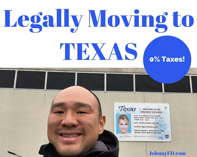 Legally Moving to Texas