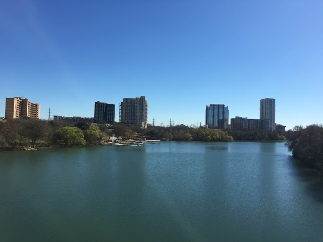 Surrounded with rivers and parks, downtown Austin is the opposite of tumbleweeds and horses